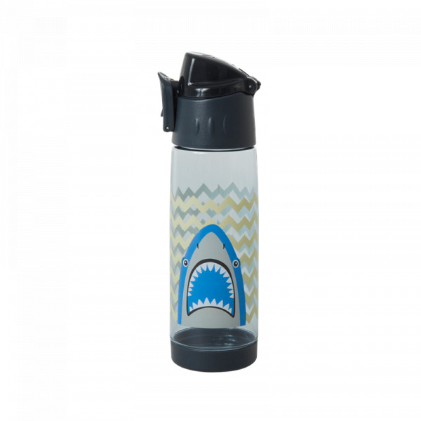 Kunststoff-Trinkflasche Hai, Firma Rice