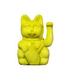 Winkekatze Katze Maneki Neko Japan Lucky Cat Glossy Yellow