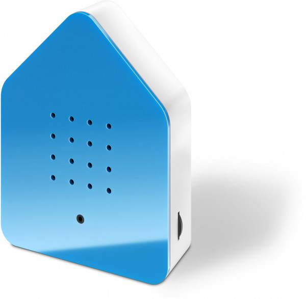 Zwitscherbox Classik Relaxbox blau (Haus, Garten, Arbeit, Birdybox)