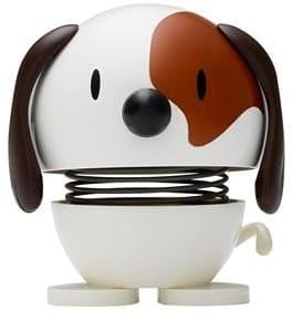 Hoptimist kleiner Hund weiß (Wackeltiere, Gute Laune)