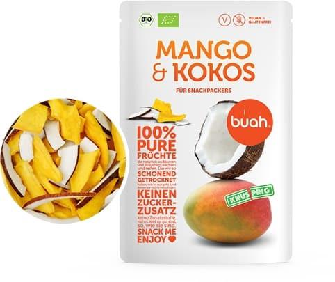 100 % pure Früchte Bio Mango & Kokos (Trockenfrucht, Frische, Natur, Qualität)