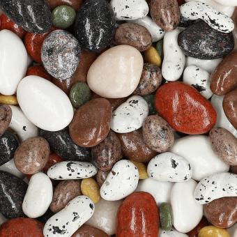 Kieselsteine Dragees mit Schokoladenüberzug, 100 g