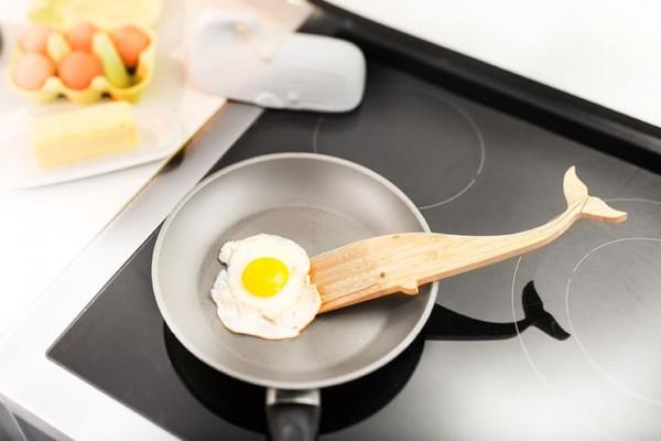 Pfannenwender Moby Dick Holz (Küche, Dekoration, Küchenhilfe)
