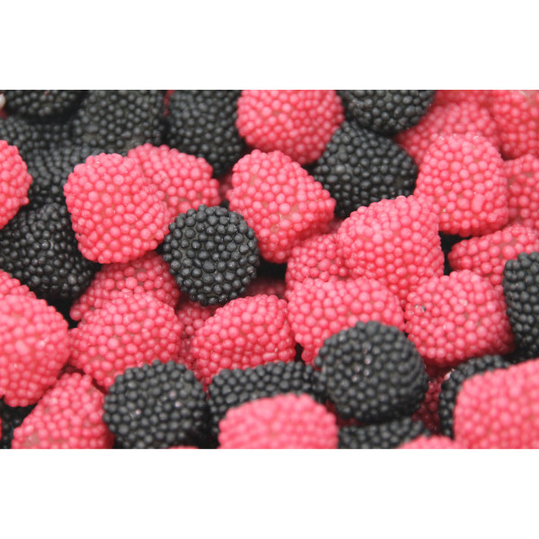 Yummi Fruchtgummi Himbeer-Brombeer