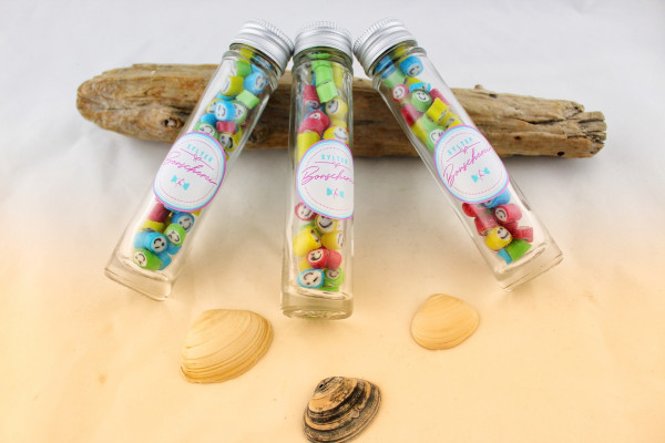 Handgemachte Sylter Bonbons Rocks Smileys 40 gr.: verschiedene Geschmäcker ; süß (Bonschen)