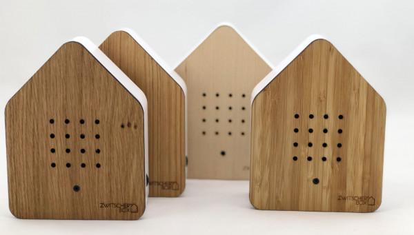 Zwitscherbox Classik Relaxbox Ahorn (Haus, Garten, Arbeit, Birdybox)