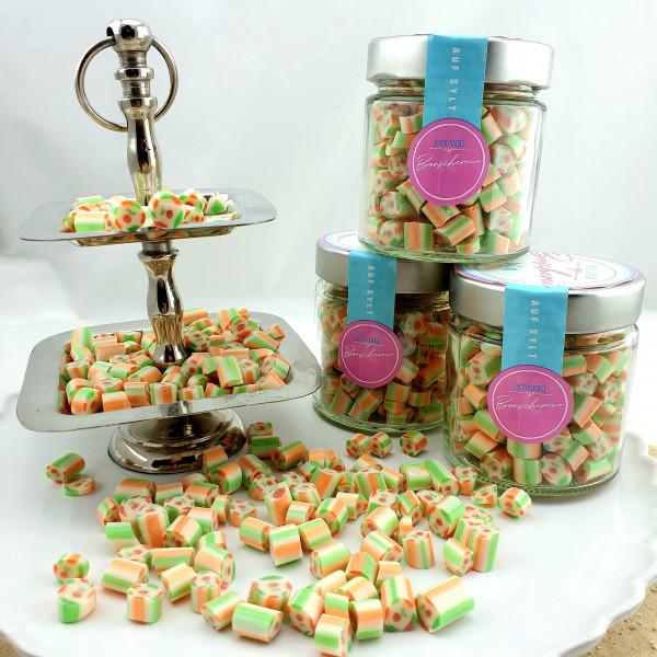 Handgemachte Sylter Bonbons Pfirsich Eistee 150gr; süß ( Bonschen)
