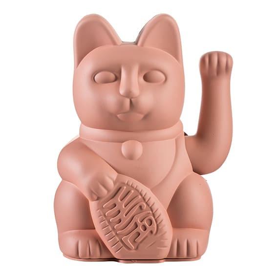 Winkekatze Katze Maneki Neko Japan Lucky Cat pink
