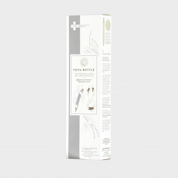 YUYU Bottle Cotton Sugarpinkstripe, Sugar Candy Floss (Wärmflasche, Wärmebinde, Riesenwärmflasche)