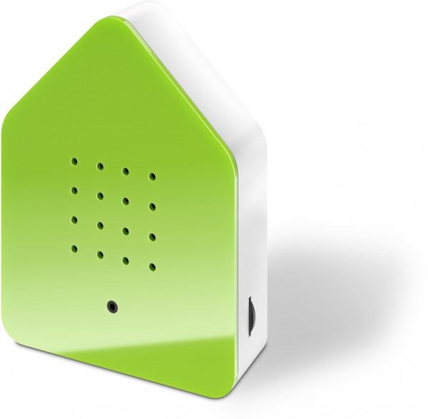 Zwitscherbox Classik Relaxbox Grün (Haus, Garten, Arbeit, Birdybox)