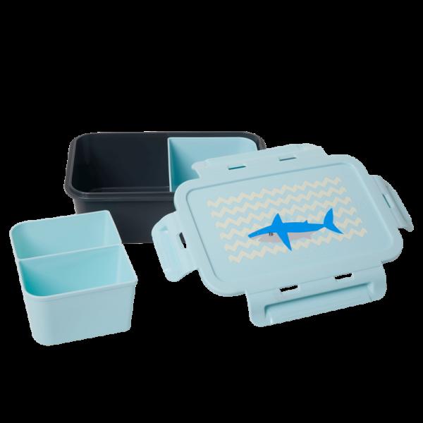 Lunchbox Shark Print blau, Firma Rice