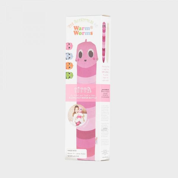 YUYU Bottle Warm Pink Pippa (Wärmflasche, Wärmebinde, Riesenwärmflasche)