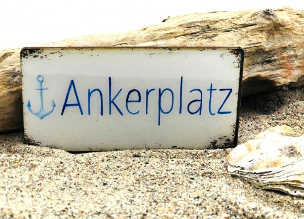 Softmagnet Ankerplatz (Magnet, Küche, Kühlschrankmagnet, Heizkörper, Dekoration)