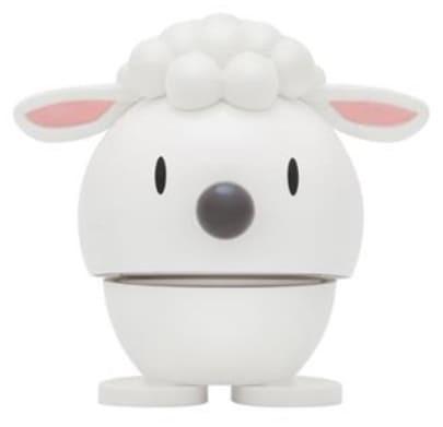 Hoptimist kleines Lamm weiß (Wackeltiere, Gute Laune)