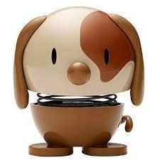 Hoptimist kleiner Hund, braun (Wackeltiere, Gute Laune)