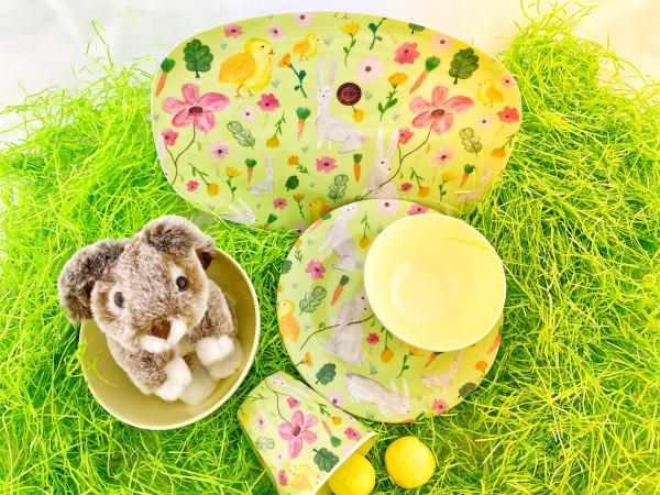 Ostern Melamin-Teller, Firma Rice