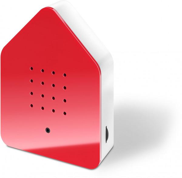 Zwitscherbox Classik Relaxbox rot (Haus, Garten, Arbeit, Birdybox)