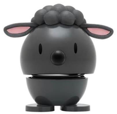 Hoptimist kleines Lamm dunkelgrau (Wackeltiere, Gute Laune)
