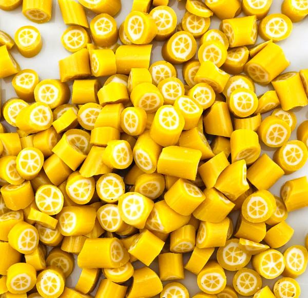 Handgemachte Sylter Bonbons Rocks Zitrone 150 gr.: Zitrone; süß;sauer (Bonschen)