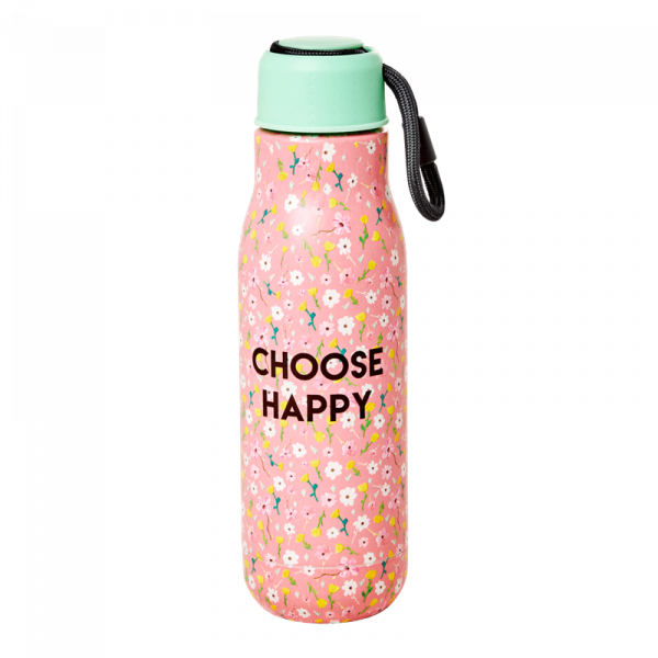 Thermosflasche Pink Choose Happy, Firma Rice