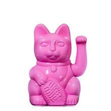Winkekatze Katze Maneki Neko Japan Lucky Cat Glossy Pink