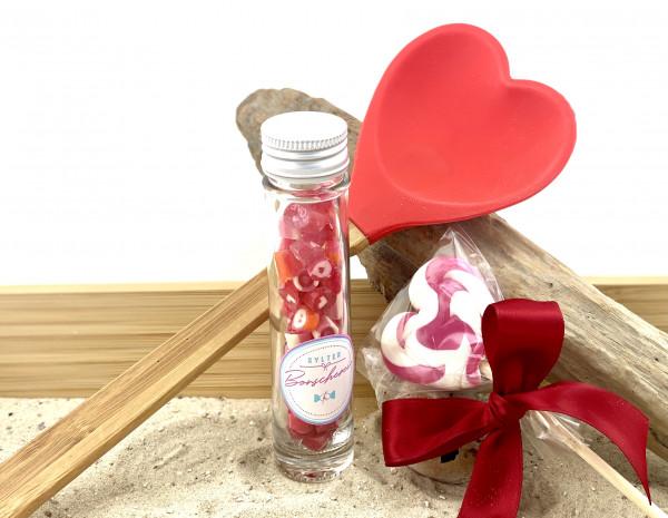 """Sylter Bonscherei LIEBE Geschenk Set """" Heart-Cooking """""""