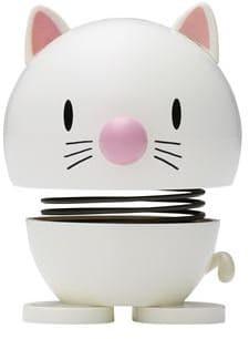 Hoptimist kleine Katze weiß (Wackeltiere, Gute Laune)