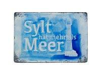 Softmagnet Sylt hat mehr als Meer (Magnet, Küche, Kühlschrank,Heizkörper,Dekoration)