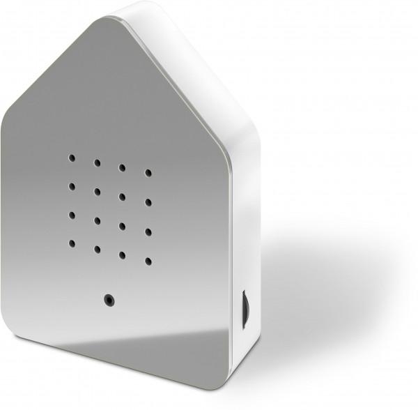 Zwitscherbox Classik Relaxbox grau (Haus, Garten, Arbeit, Birdybox)
