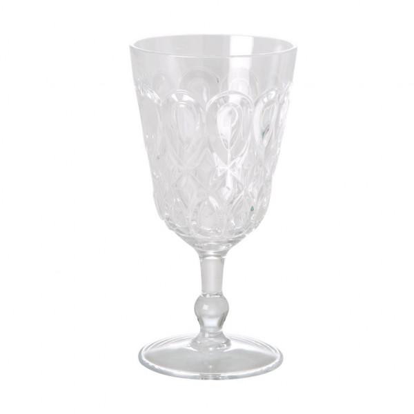 Weinglas Acryl klar, 9 cm x 17 cm, Firma Rice