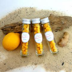 Handgemachte Sylter Bonbons Zitrone-Ingwer 40 gr.; süß;sauer,scharf