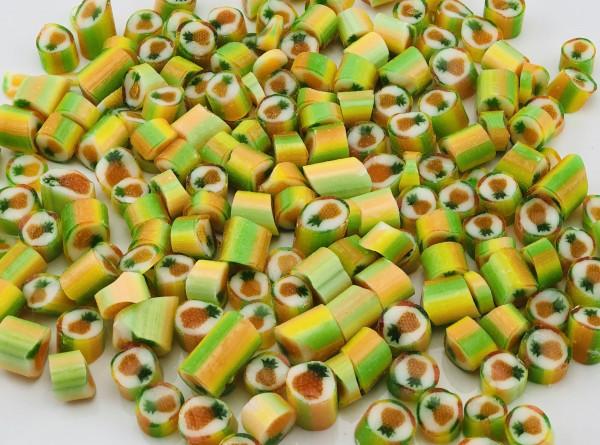 Handgemachte Sylter Bonbons Rocks Ananas: Pina Colada; süß (Bonschen)