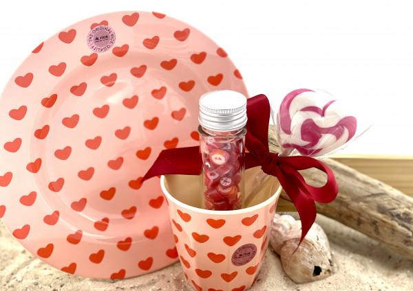 """Sylter Bonscherei LIEBE Geschenk Set """" Love for Breakfast """""""