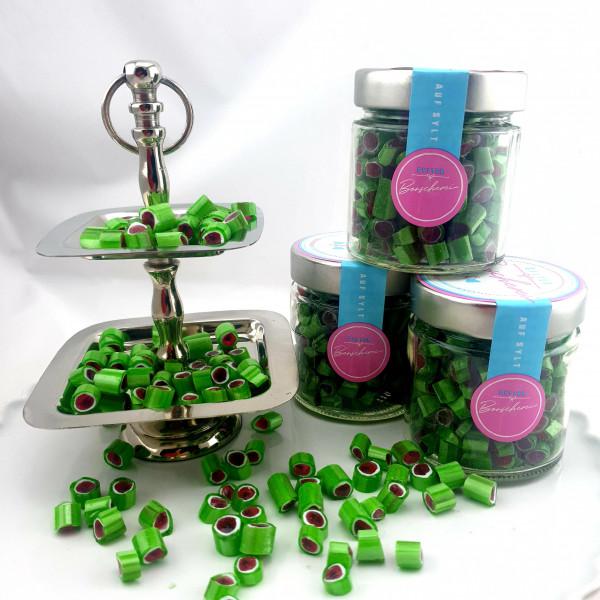 Handgemachte Sylter Bonbons Rocks Wassermelone 150 gr.; süß(Bonschen)