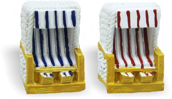 Softmagnet Mini-Strandkorb (Magnet, Küche, Kühlschrankmagnet, Heizkörper, Dekoration)