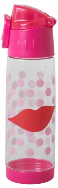 Kunststoff-Trinkflasche Kussmund, Firma Rice