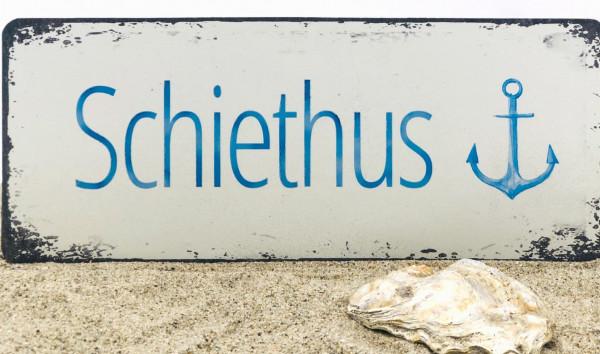 Blechschild Schiethus (Dekoschild Metallschild Küche)