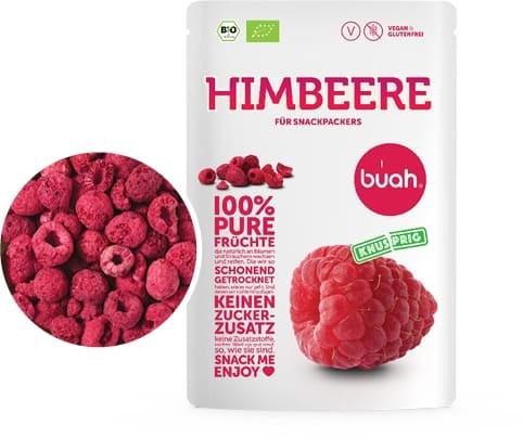 100 % pure Früchte Bio Himbeere (Trockenfrucht, Frische, Natur, Qualität)